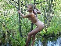Baggersee am frauen nackt Kostenloses nackte
