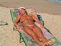 Nacktfotos von reifen frauen