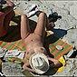 Paar Privat - Heimlich am FKK Strand fotografiert