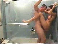 Geiler Sex Unter Der Dusche